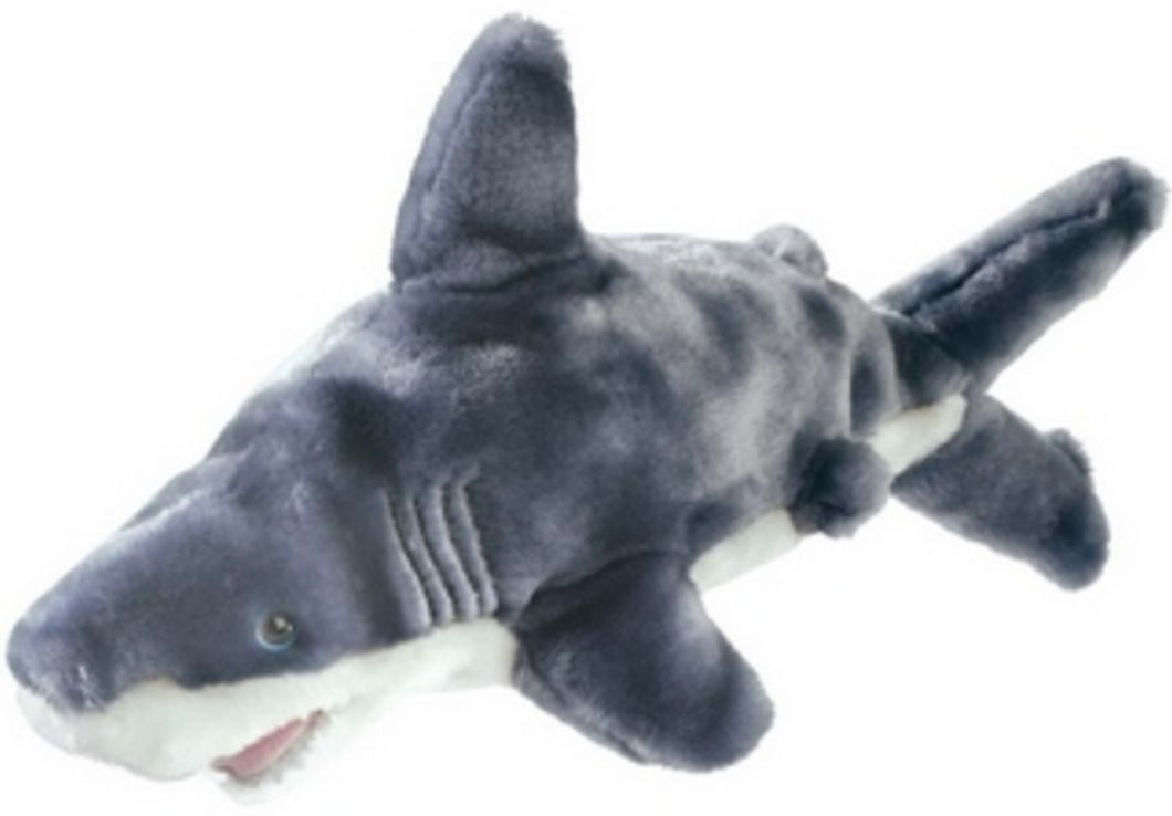 Floppy Great White Shark 12in