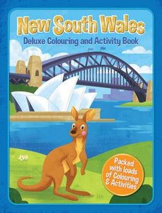 Book - NSW Deluxe Colouring & Activity Book