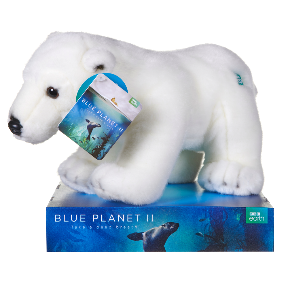 Polar Bear Blue Planet II Large 45cm