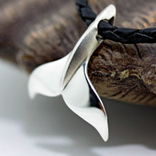 Load image into Gallery viewer, Diving Fluke Whale Tail Necklace