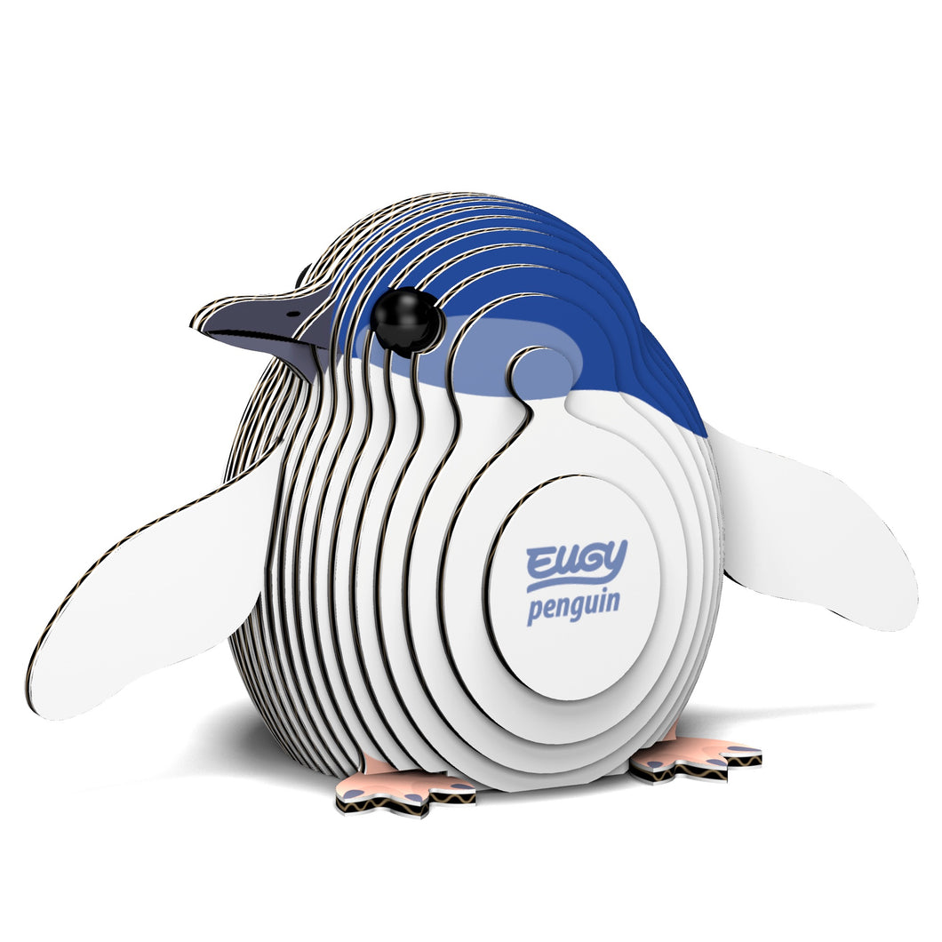 EUGY 3D Cardboard Model Kit Penguin