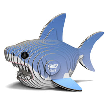 Load image into Gallery viewer, EUGY 3D Cardboard Model Kit Shark