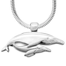 Load image into Gallery viewer, Nala And Mirrhi Humpback Whale Necklace
