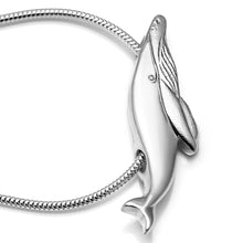 Load image into Gallery viewer, Baby Humpback Whale Necklace