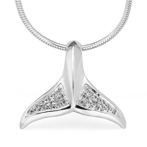 World Treasure Whale Tail Necklace