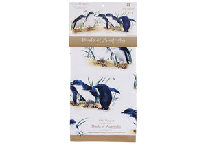 Little Blue Penguin Tea Towel