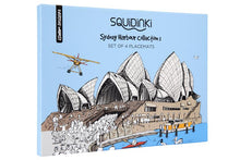 Load image into Gallery viewer, Sydney Harbour Collection Placemats, Set of 4