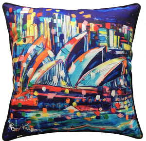 Tracey Keller Sydney Opera House Cushion Cover
