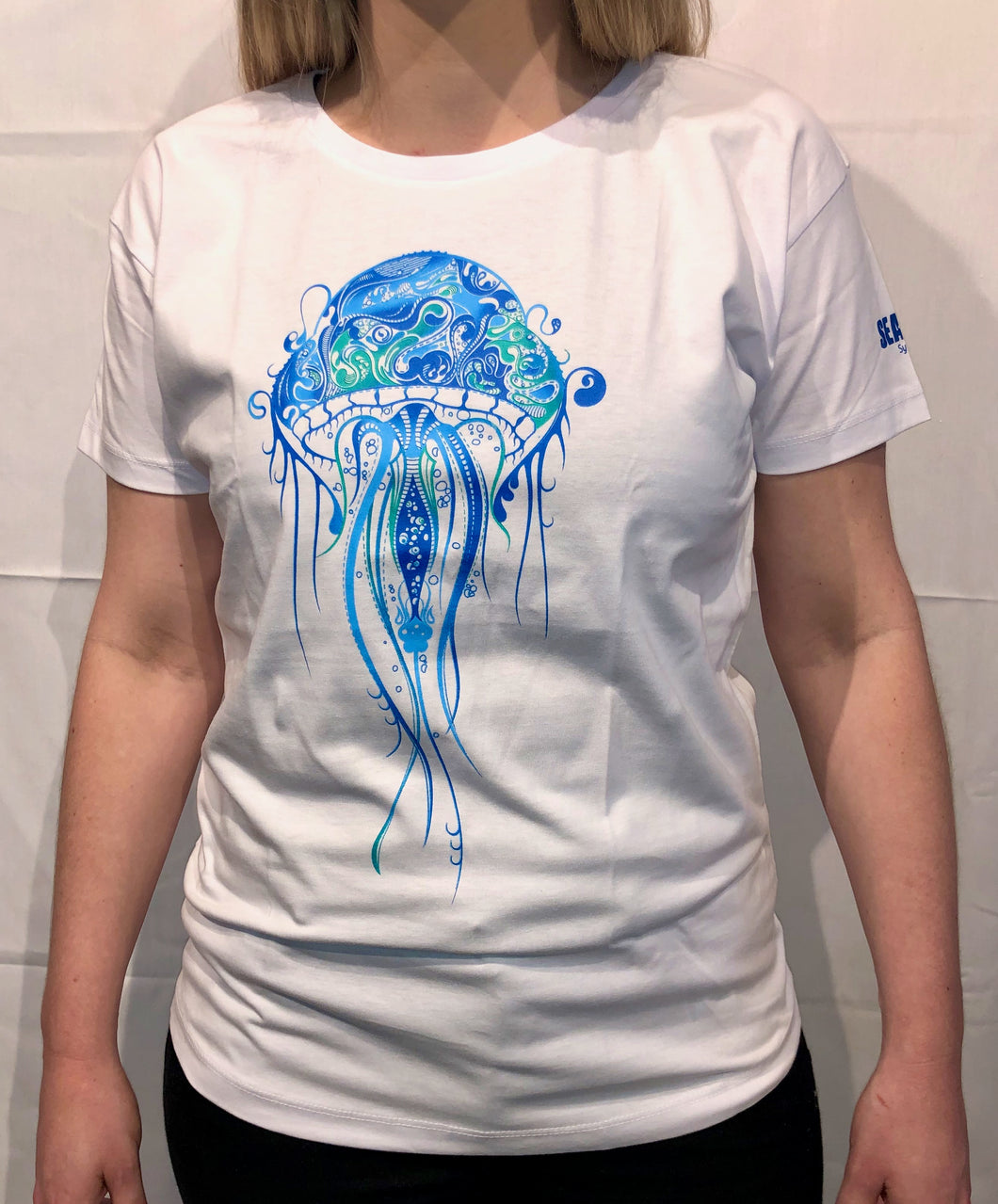 SEA LIFE Sydney Jellyfish Ladies t-shirt White