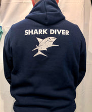 Load image into Gallery viewer, Shark Dive Xtreme Unisex Hoodie Navy
