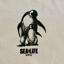 Load image into Gallery viewer, SEA LIFE Sydney Penguin & Baby Unisex t-shirt White