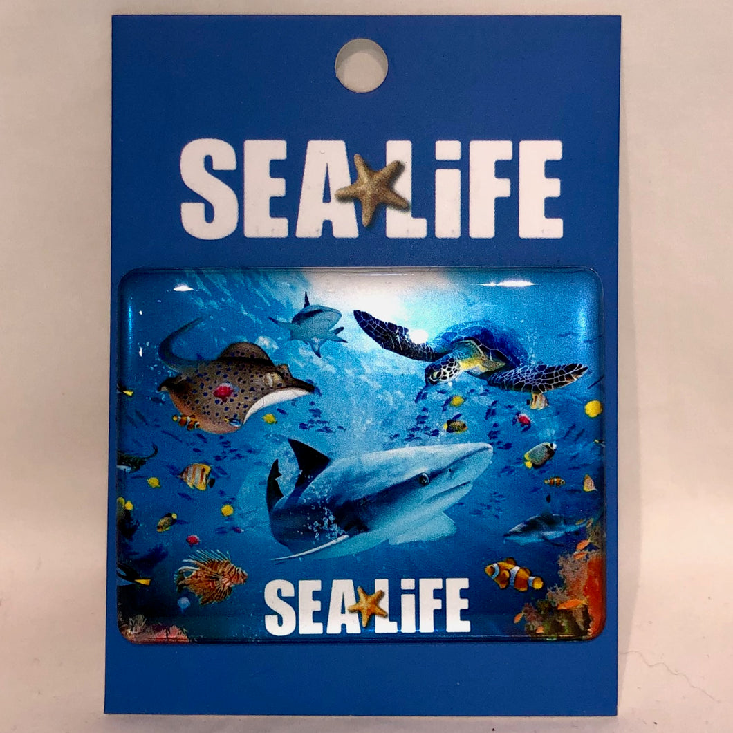 SEA LIFE Resin Magnet