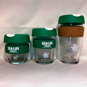 SEA LIFE Trust Every Turtle Counts KeepCup Brew Cork 16oz