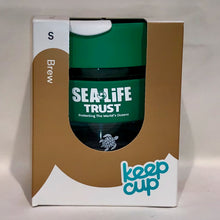 Load image into Gallery viewer, SEA LIFE Trust Every Turtle Counts KeepCup Brew 8oz