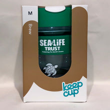 Load image into Gallery viewer, SEA LIFE Trust Every Turtle Counts KeepCup Brew 12oz