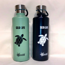 Load image into Gallery viewer, SEA LIFE Cheeki Classic Insulated Bottle 600ml Turtle