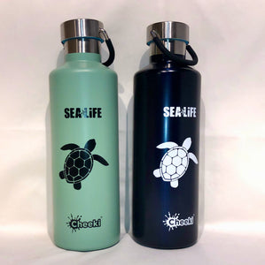 SEA LIFE Cheeki Classic Insulated Bottle 600ml Turtle