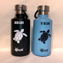 Load image into Gallery viewer, SEA LIFE Cheeki Classic Insulated Bottle 400ml Turtle