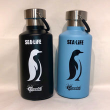 Load image into Gallery viewer, SEA LIFE Cheeki Classic Insulated Bottle 400ml Penguin