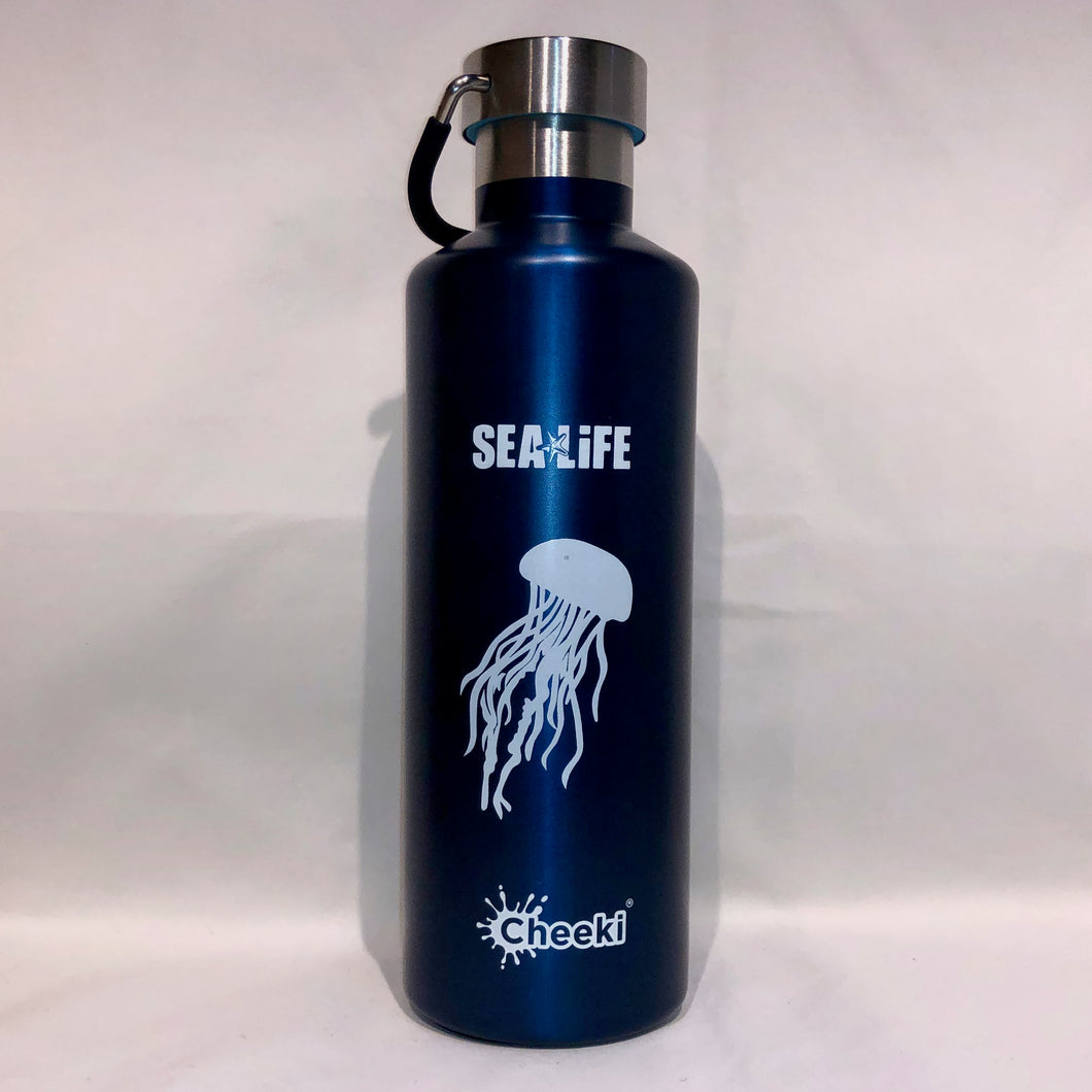SEA LIFE Cheeki Classic Insulated Bottle 600ml Jellyfish
