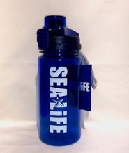 Load image into Gallery viewer, SEA LIFE Water Bottle Blue