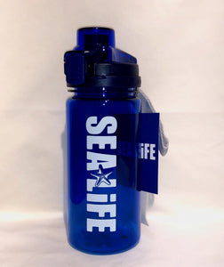 SEA LIFE Water Bottle Blue