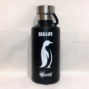 SEA LIFE Cheeki Classic Insulated Bottle 400ml Penguin