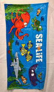 SEA LIFE Under the Sea Towel