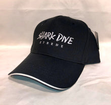 Load image into Gallery viewer, Shark Dive Xtreme Black Baseball Cap Size 58