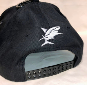 Shark Dive Xtreme Black Baseball Cap Size 58