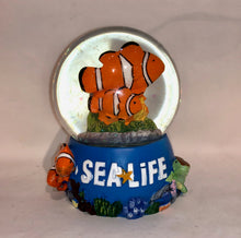 Load image into Gallery viewer, SEA LIFE Clownfish Snowglobe 65mm