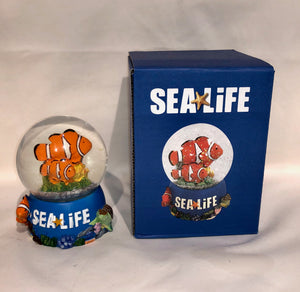 SEA LIFE Clownfish Snowglobe 65mm