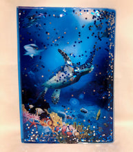 Load image into Gallery viewer, SEA LIFE A5 Notebook with Liquid Filled Cover