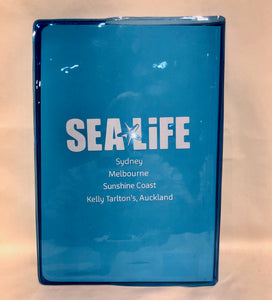 SEA LIFE A5 Notebook with Liquid Filled Cover