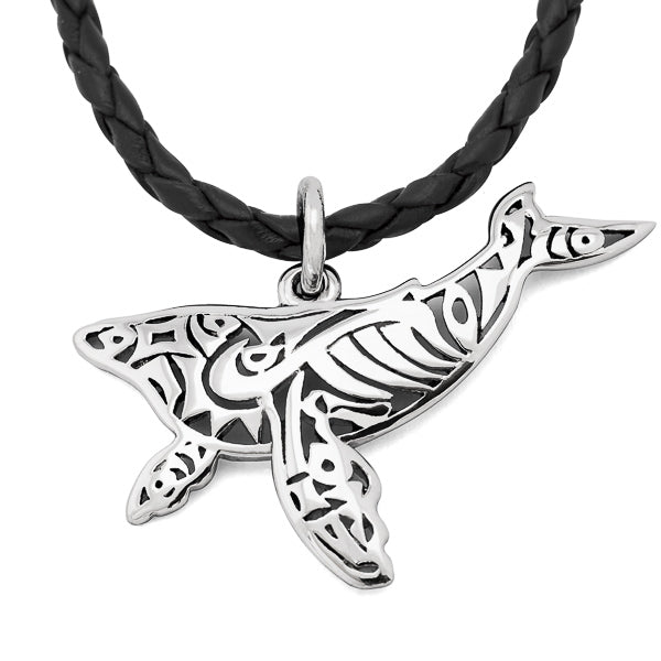 Paikea Humpback Whale Tail Necklace
