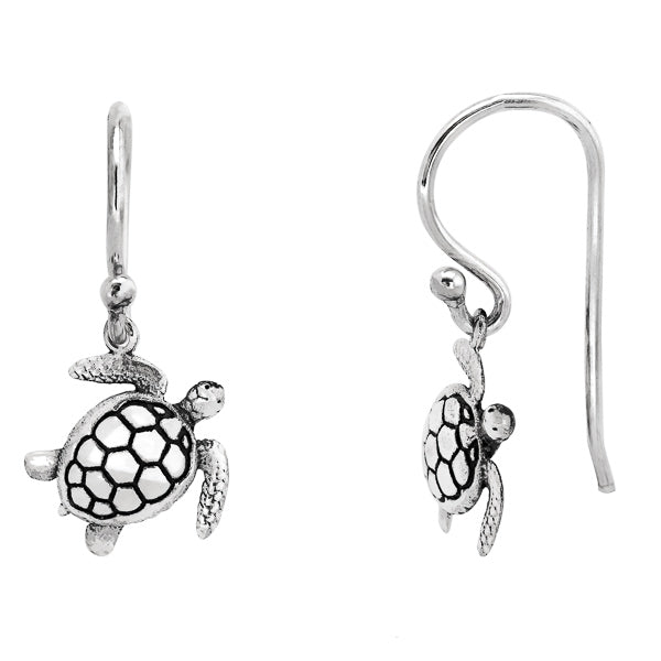 Sea Turtle Drop Earrings