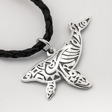 Load image into Gallery viewer, Paikea Humpback Whale Tail Necklace