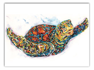 Tracey Keller Turtle Greeting Card