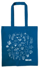 Load image into Gallery viewer, SEA LIFE Cotton Shopper Bag