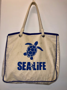 SEA LIFE Canvas Shopping Tote Bag