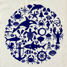 Load image into Gallery viewer, SEA LIFE Trust Montage Ladies t-shirt White