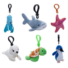 Load image into Gallery viewer, Plush Bag Clip Style Keyring