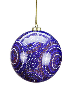 KB Desert Waterholes Christmas Bauble