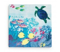 Great Barrier Reef Coaster 10cm