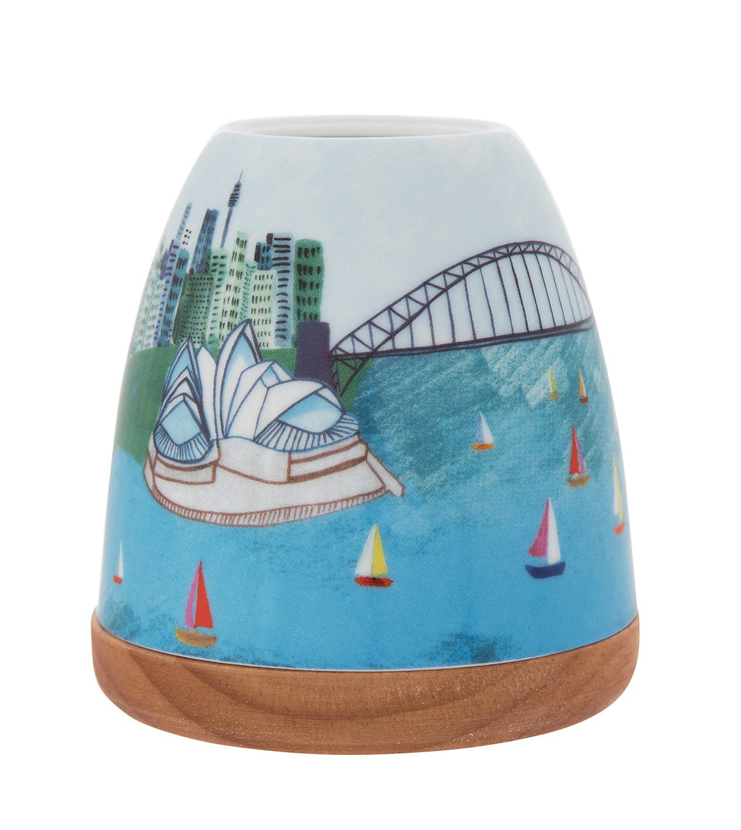 Sydney Harbour Minikin Tealight Holder