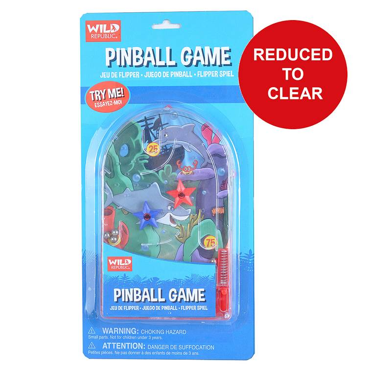 Pinball Shark Game