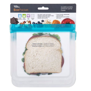 EcoPocket Reusable Pockets Sandwich Set of 2