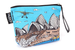 Sydney Harbour Cosmetic Bag