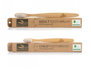 Go Bamboo Eco Bamboo Toothbrush