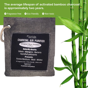 6 Pack Charcoal Bags™: Bamboo Charcoal Air Purifying Bag